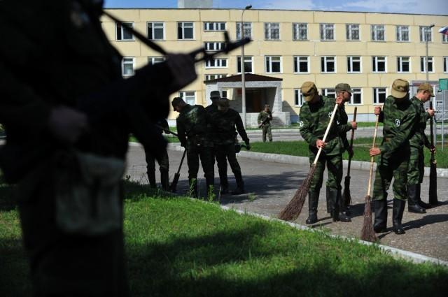 Дисциплинарный батальон в российской армии