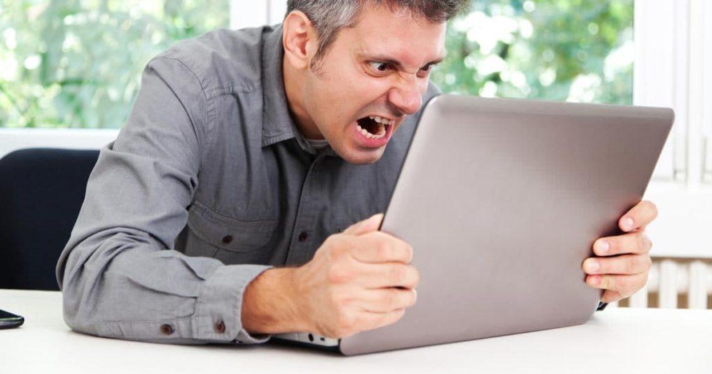 оскорбление в сети