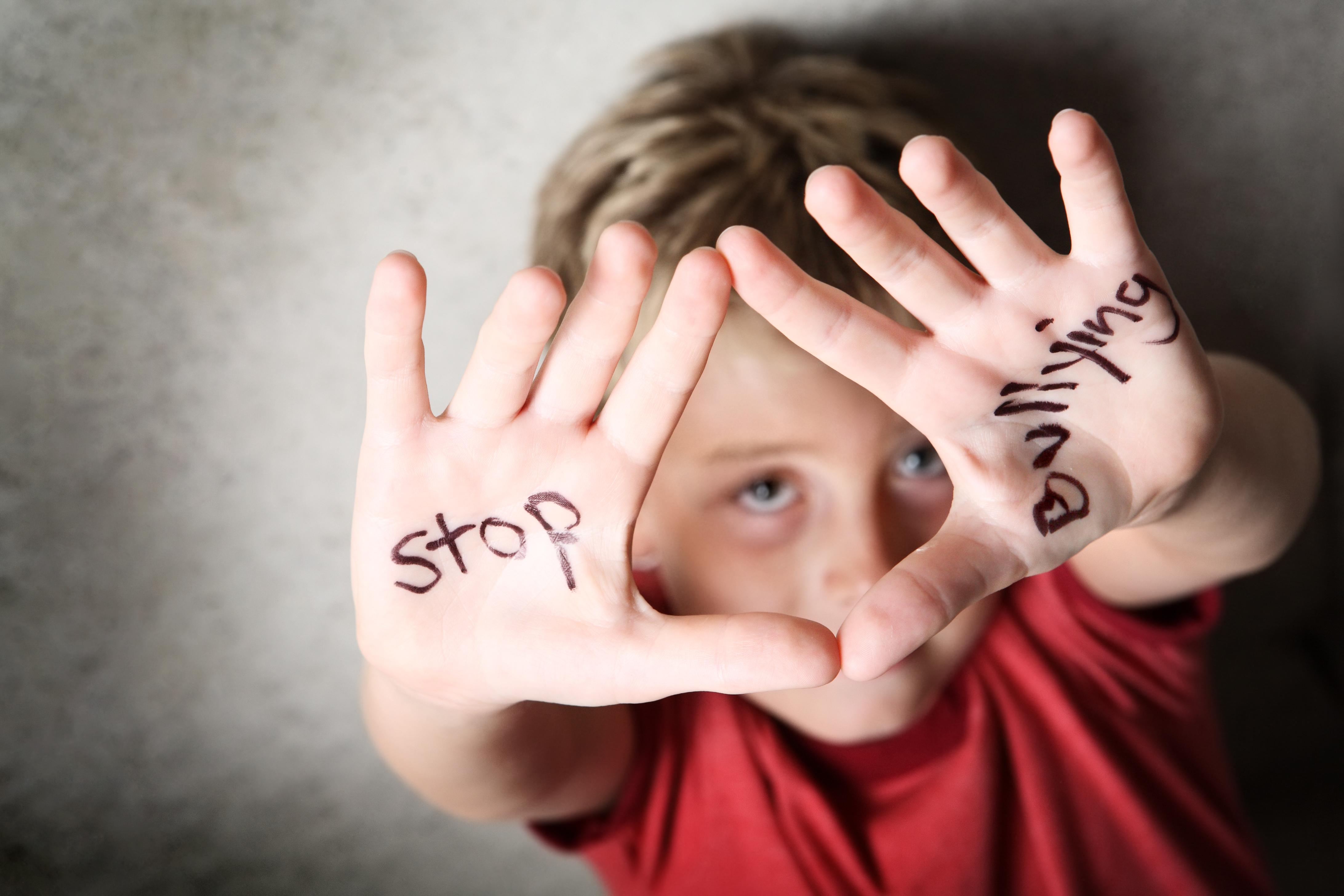 Насилие в школе в картинках
