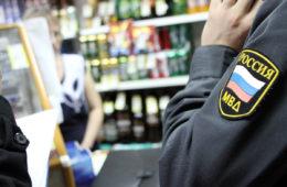 нелегальная продажа алкоголя
